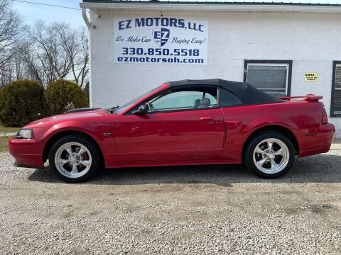 2002 Ford Mustang for sale at EZ Motors in Deerfield OH