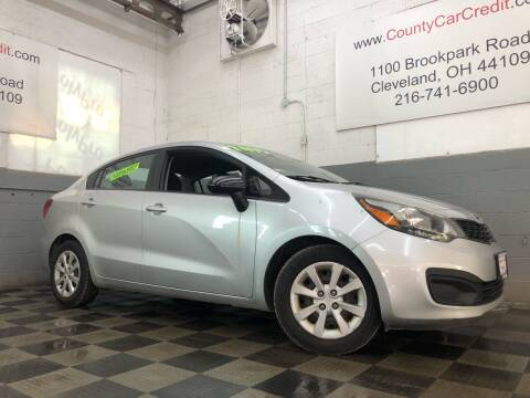 2013 Kia Rio for sale at County Car Credit in Cleveland OH