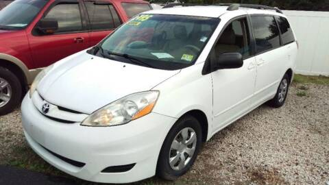 2009 Toyota Sienna for sale at Tony's Auto Sales in Jacksonville FL