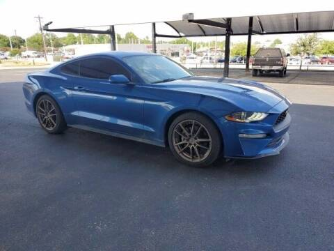 2018 Ford Mustang for sale at Jerry's Buick GMC in Weatherford TX