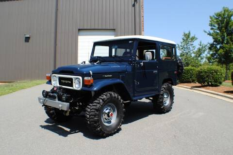 1983 Toyota Land Cruiser for sale at Euro Prestige Imports llc. in Indian Trail NC