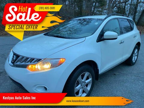 2009 Nissan Murano for sale at Kostyas Auto Sales Inc in Swansea MA