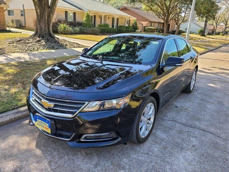 2019 Chevrolet Impala for sale at Amazon Autos in Houston TX