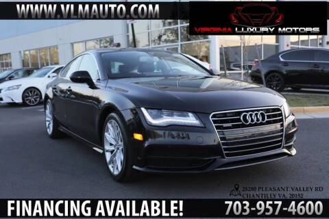 2013 Audi A7 for sale at Used Imports Auto - Virginia Luxury Motors in Chantilly GA