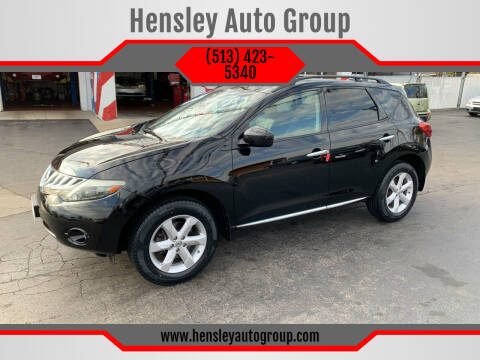 2009 Nissan Murano for sale at Hensley Auto Group in Middletown OH