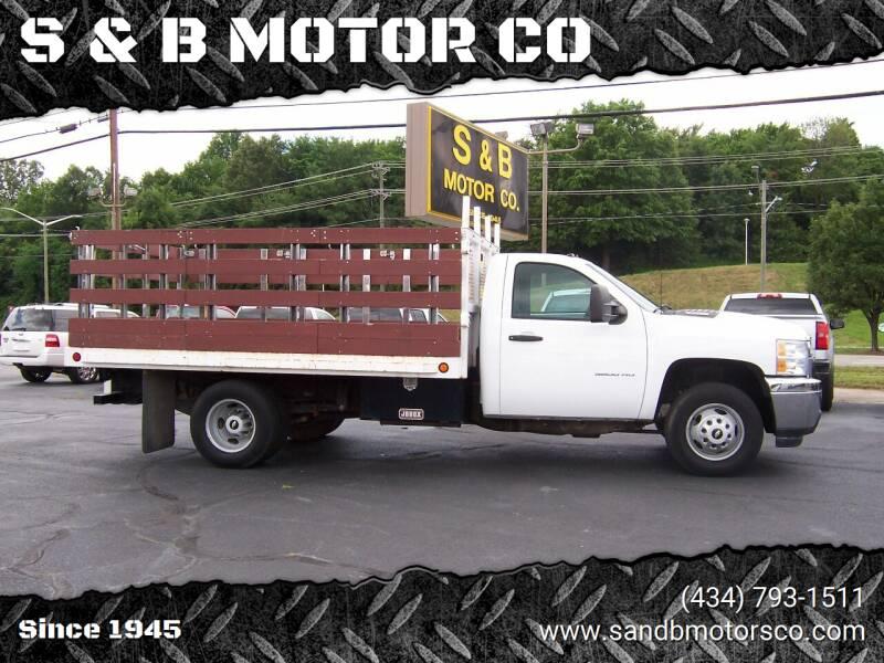 2014 Chevrolet Silverado 3500HD CC for sale at S & B MOTOR CO in Danville VA