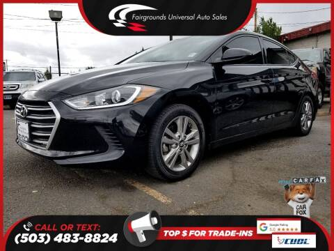 2017 Hyundai Elantra for sale at Universal Auto Sales in Salem OR