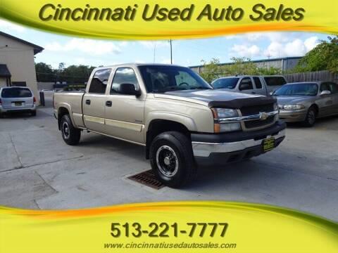 2004 Chevrolet Silverado 2500 for sale at Cincinnati Used Auto Sales in Cincinnati OH
