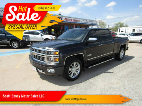 2014 Chevrolet Silverado 1500 for sale at Scott Spady Motor Sales LLC in Hastings NE