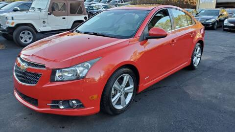 2014 Chevrolet Cruze for sale at GA Auto IMPORTS  LLC in Buford GA