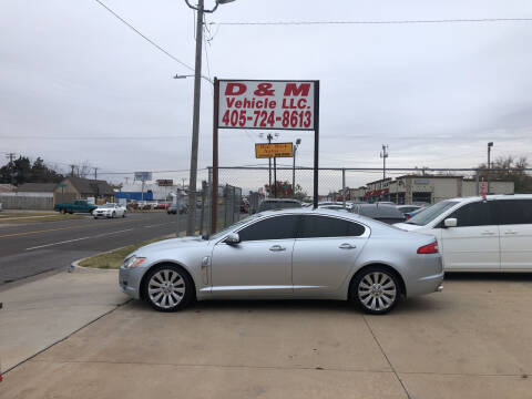 2009 Jaguar XF for sale at D & M Vehicle LLC in Oklahoma City OK