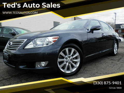 2011 Lexus LS 460 for sale at Ted's Auto Sales in Louisville OH