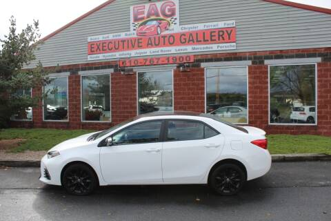 2018 Toyota Corolla for sale at EXECUTIVE AUTO GALLERY INC in Walnutport PA