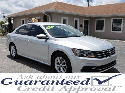 2017 Volkswagen Passat for sale at Universal Auto Sales in Plant City FL