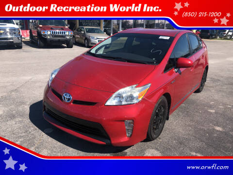 2015 Toyota Prius for sale at Outdoor Recreation World Inc. in Panama City FL