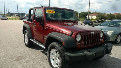 2009 Jeep Wrangler for sale at Kelly & Kelly Supermarket of Cars in Fayetteville NC