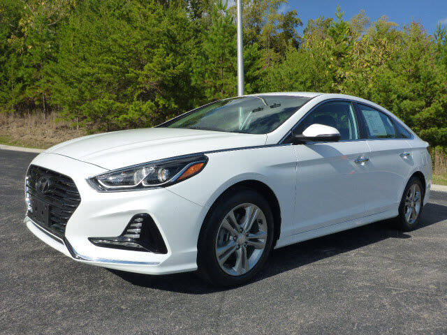 2018 Hyundai Sonata for sale at RUSTY WALLACE KIA OF KNOXVILLE in Knoxville TN