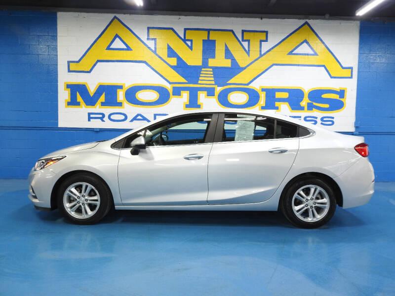 2018 Chevrolet Cruze for sale at ANNA MOTORS, INC. in Detroit MI