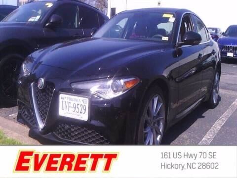 2019 Alfa Romeo Giulia for sale at Everett Chevrolet Buick GMC in Hickory NC