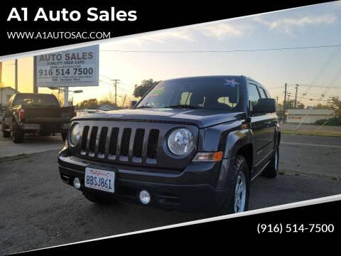 2016 Jeep Patriot for sale at A1 Auto Sales in Sacramento CA