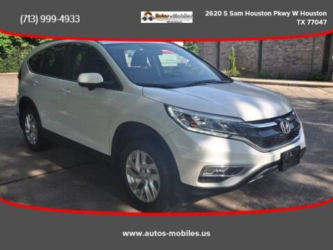 2016 Honda CR-V for sale at AUTOS-MOBILES in Houston TX