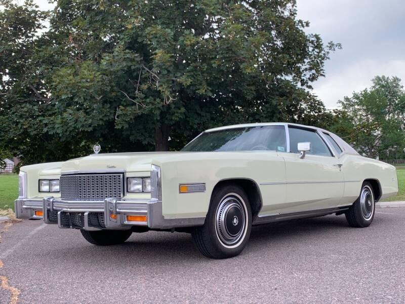 1976 Cadillac Eldorado for sale at Shift Automotive in Denver CO