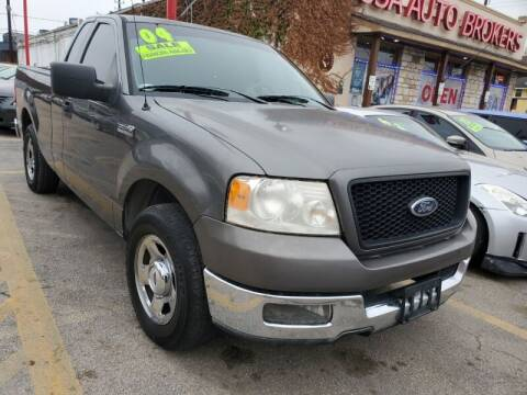 2004 Ford F-150 for sale at USA Auto Brokers in Houston TX