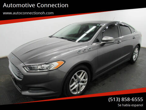 2013 Ford Fusion for sale at Automotive Connection in Fairfield OH