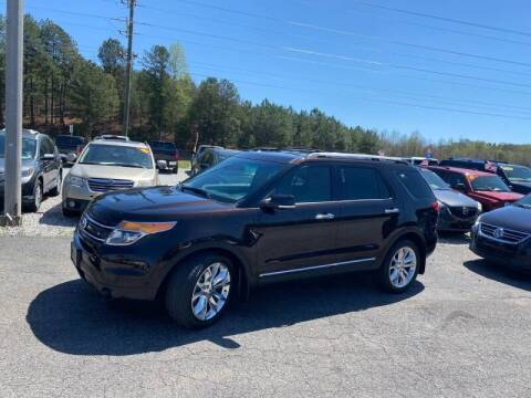 2013 Ford Explorer for sale at Billy Ballew Motorsports in Dawsonville GA