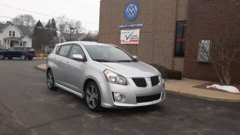 2009 Pontiac Vibe for sale at Mighty Motors in Adrian MI