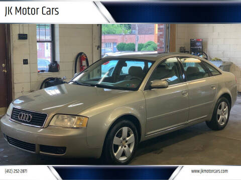 2002 Audi A6 for sale at JK Motor Cars in Pittsburgh PA