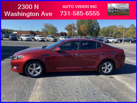 2015 Kia Optima for sale at Auto Vision Inc. in Brownsville TN