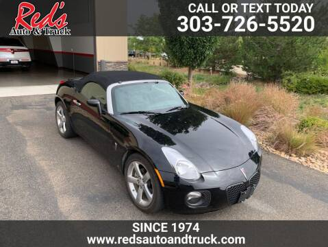 2008 Pontiac Solstice for sale at Red's Auto and Truck in Longmont CO