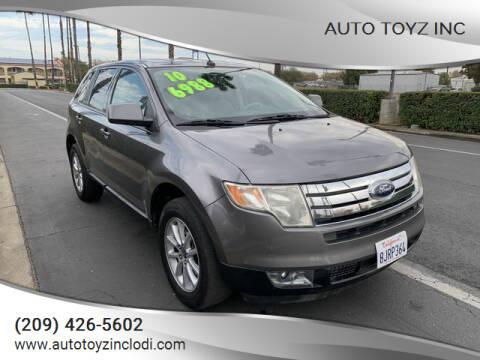 2010 Ford Edge for sale at Auto Toyz Inc in Lodi CA
