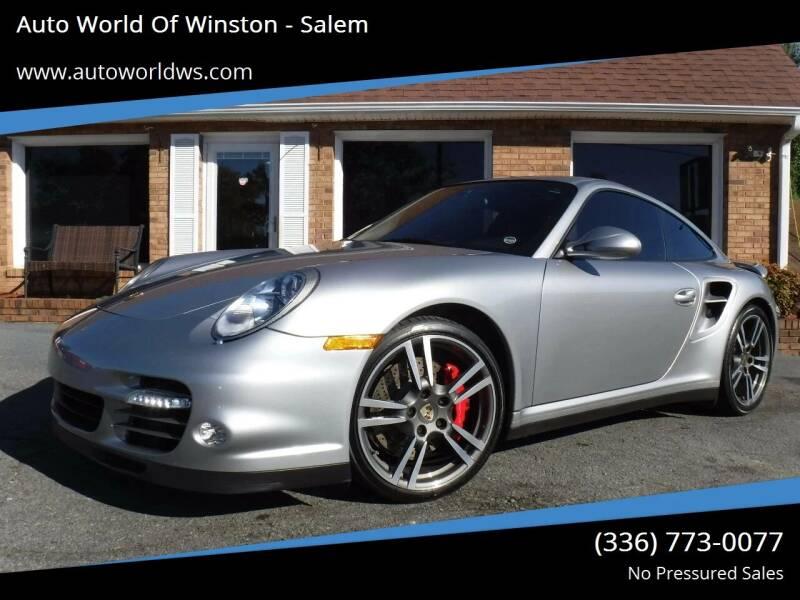 2012 Porsche 911 for sale at Auto World Of Winston - Salem in Winston Salem NC