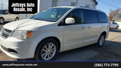 2014 Dodge Grand Caravan for sale at Jeffreys Auto Resale, Inc in Clinton Township MI