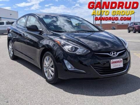2015 Hyundai Elantra for sale at Gandrud Dodge in Green Bay WI