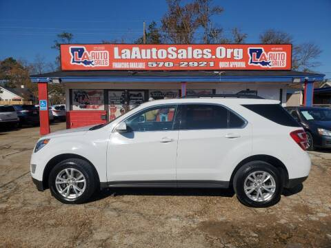 2017 Chevrolet Equinox for sale at LA Auto Sales in Monroe LA