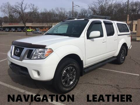2016 Nissan Frontier for sale at Borderline Auto Sales in Loveland OH