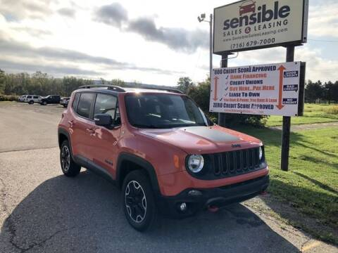 2015 Jeep Renegade for sale at Sensible Sales & Leasing in Fredonia NY