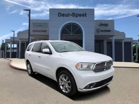 2018 Dodge Durango for sale at DEUR-SPEET MOTORS in Fremont MI
