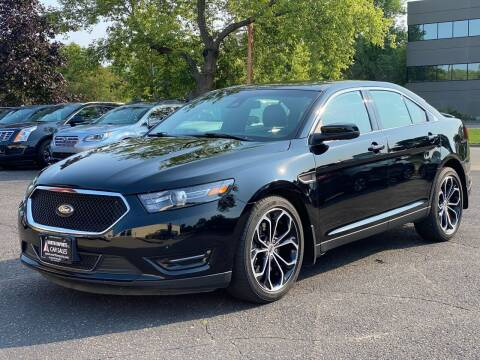 2018 Ford Taurus for sale at North Imports LLC in Burnsville MN