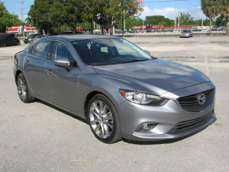 2014 Mazda MAZDA6 for sale at United Auto Center in Davie FL