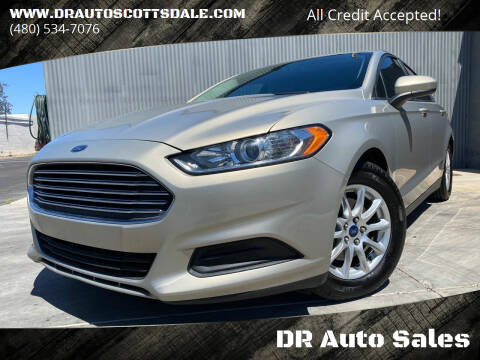 2016 Ford Fusion for sale at DR Auto Sales in Scottsdale AZ
