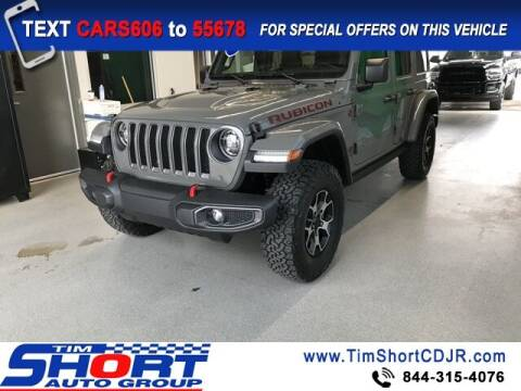2021 Jeep Wrangler Unlimited for sale at Tim Short Chrysler in Morehead KY