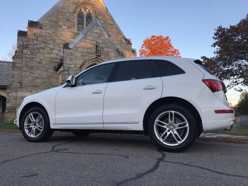2016 Audi Q5 for sale at Reynolds Auto Sales in Wakefield MA