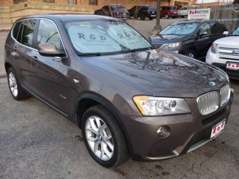 2014 BMW X3 for sale at R & D Motors in Austin TX