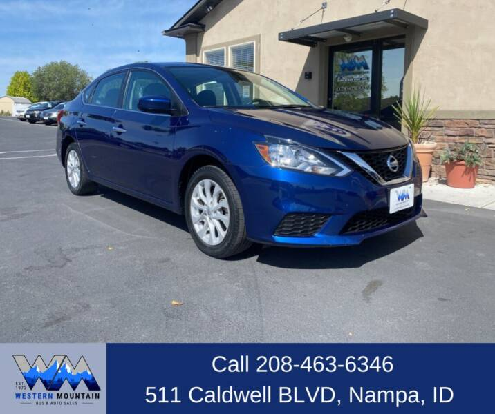 2018 Nissan Sentra for sale at Western Mountain Bus & Auto Sales in Nampa ID