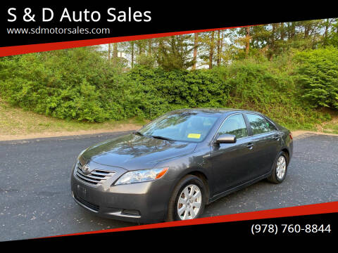 2007 Toyota Camry Hybrid for sale at S & D Auto Sales in Maynard MA
