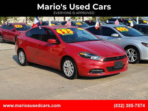 2014 Dodge Dart for sale at Mario's Used Cars in Houston TX